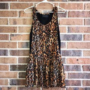 Minkpink Leopard Print Mini Dress XS